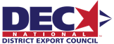 Logo for the National District Export Council